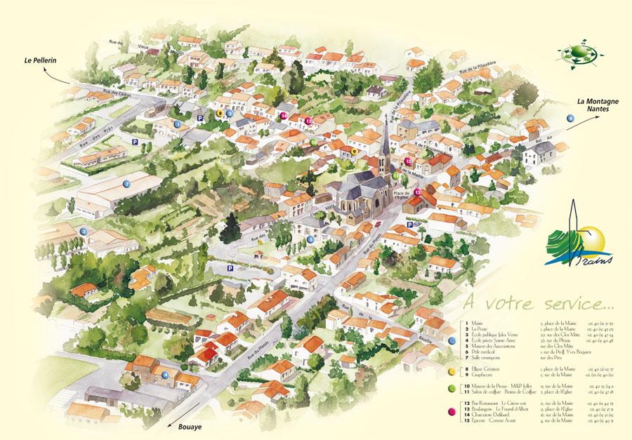 Mobilier Urbain Pour Plan De Ville